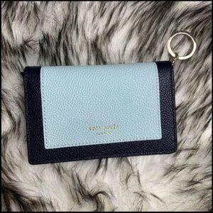 Kate Spade Margaux Keyring Wallet - Blue